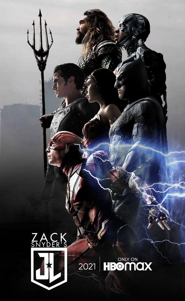 Zack Snyder S Justice League Poster ในป 2021 จ สต สล ก แบทแมน ฮ โร มาร เวล