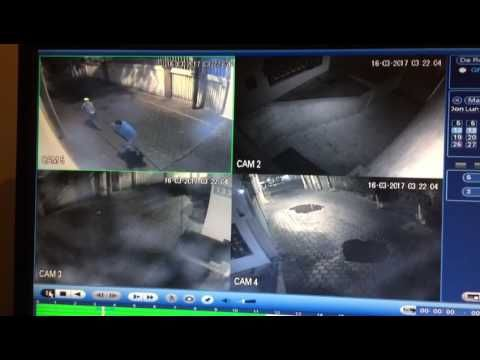 Cámaras de seguridad captan robo de cableado eléctrico en Coyoacán (VIDEO)
