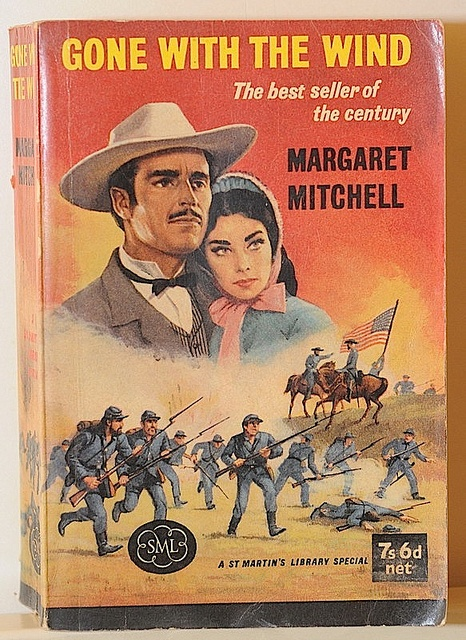 vintage gone with the wind book