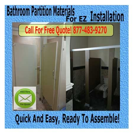 The Best Restroom Partitions Images On Pinterest Bathroom - Diy bathroom partitions