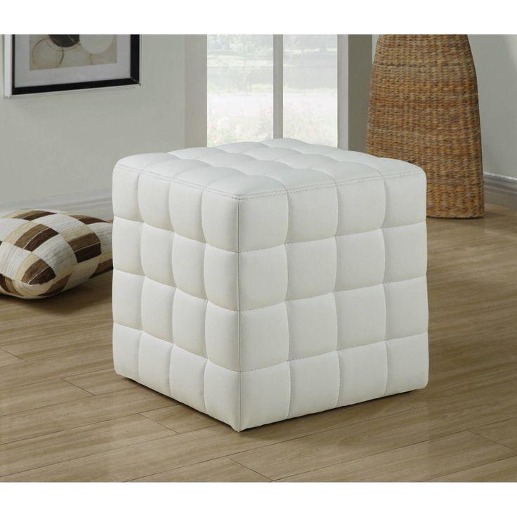 Ikea Off White Rug Canada: Best 25+ White Leather Ottoman Ideas On Pinterest