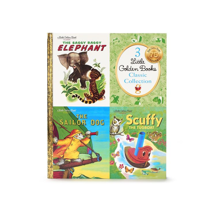 """Kohl's Cares® Little Golden Books """"The Saggy Baggy Elephant"""" Book Collection, Multicolor"""
