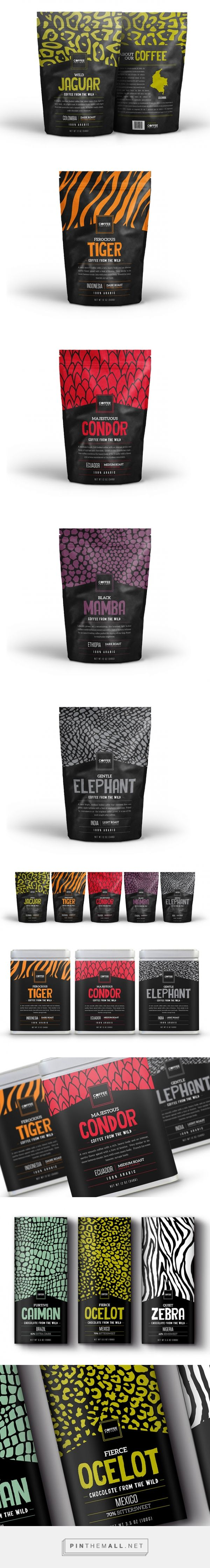 Coffee From The Wild (Concept)  Packaging of the World - Creative Package Design Gallery - http://www.packagingoftheworld.com/2015/09/coffee-from-wild-concept.html