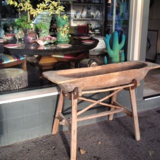 antique trencher table