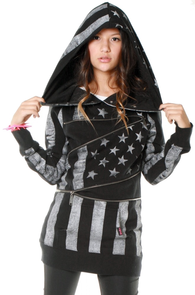 #clothing #hoody #american #flag #abbeydawn