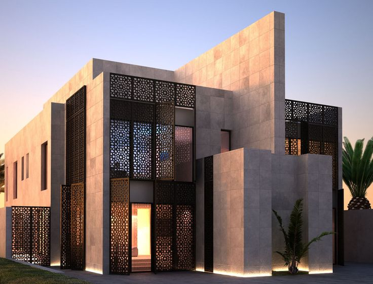 68 best islamic house images on pinterest modern houses for Residential architect