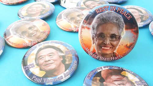 COMMEMORATIVE FUNERAL BADGES