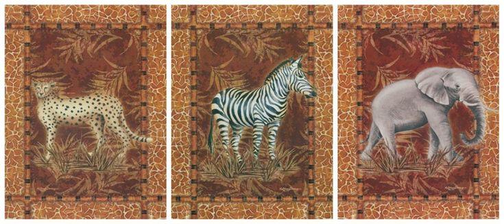 Бесплатная доставка мультфильм животных рисунок Зебры леопарда слон живопись маслом напечатаны на холсте главная стены украшения искусства фотографии