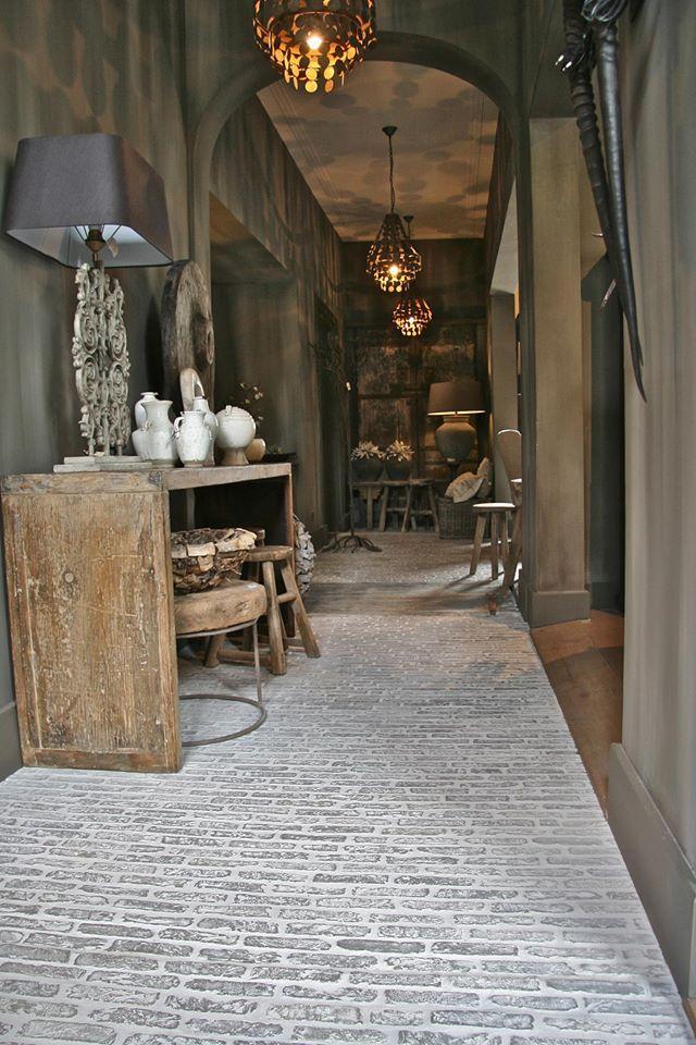 -wine cellar floor