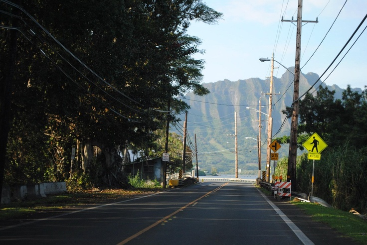 One of the shots I took driving though the North Shore, Oahu.