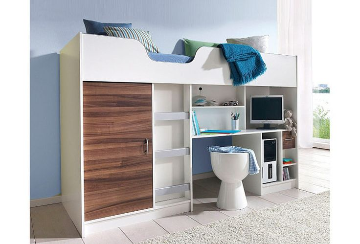 ber ideen zu hochbett mit schrank auf pinterest. Black Bedroom Furniture Sets. Home Design Ideas