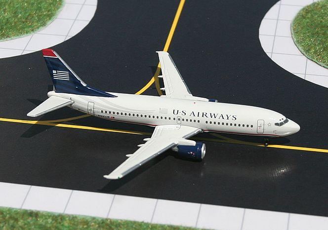 1/400 GeminiJets US Airways Boeing 737-300 Diecast Model
