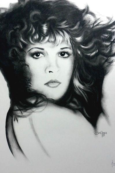 Stevie 1985  ~Fan Art drawing