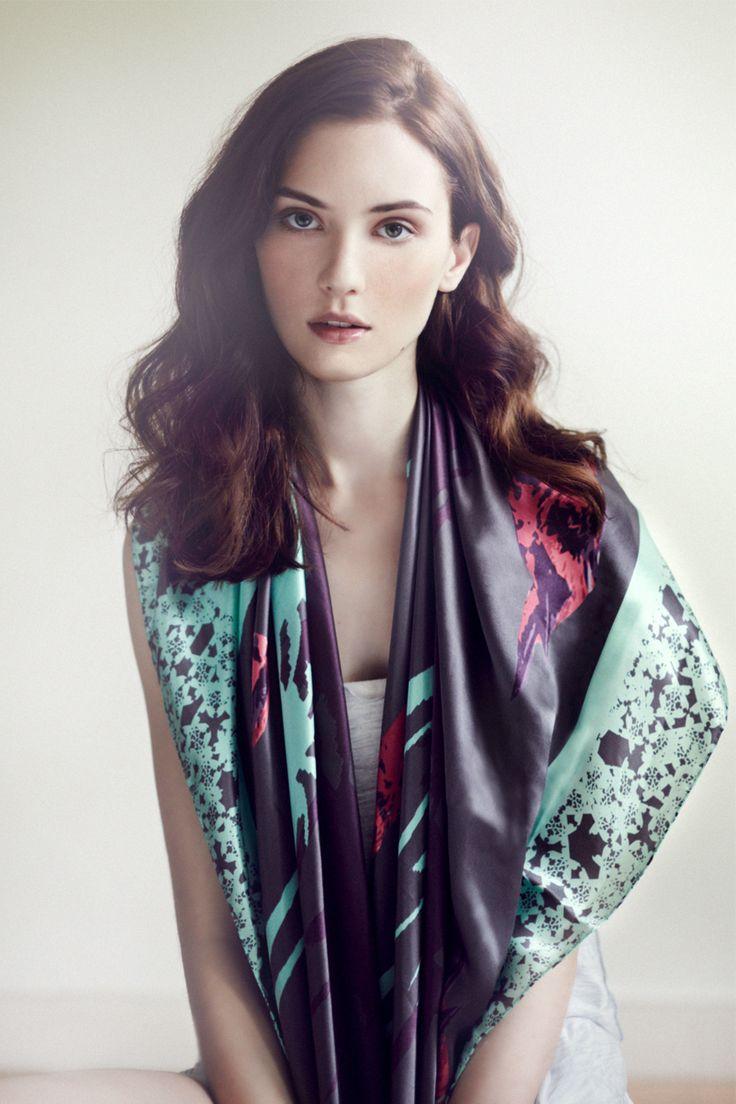 Ambra Silk Scarf www.alva-norge.com