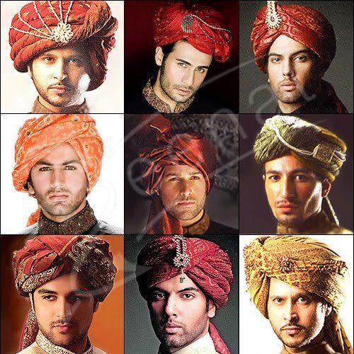 Indian Wedding Grooms Mens Turban Pagri Alladin Hat Fancy Dress Pagrhee New Gold | eBay $32.49