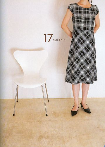 Japanese dress pattern.