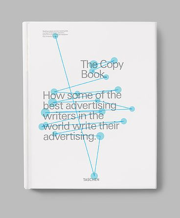 The Copy Book, How some of the best advertising writers in the world write their advertising, Taschen, Book cover
