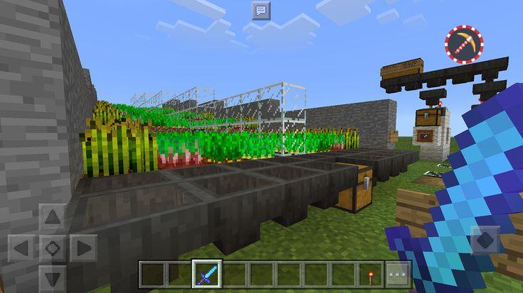 карты на майнкрафт пе 0.11.0 ферма #4