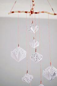 s i n n e n r a u s c h: Origami Diamanten