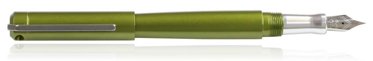 Karas Kustoms Ink Fountain Pens in olive green
