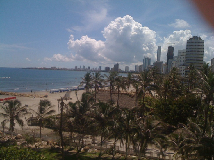 Cartagena, Colombia. #Laguito #Beach