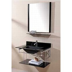 Contemporary Art Websites Xylem Bath Metal Vanity Set brackets for Vanity Top Lower Shelf Mirror