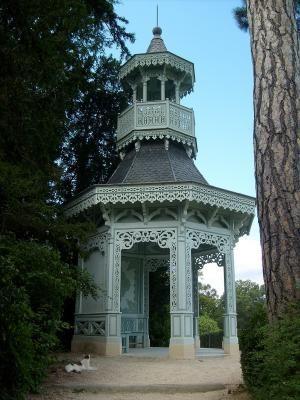 kiosque de l'impératrice, parc de Bagatelle, 75016