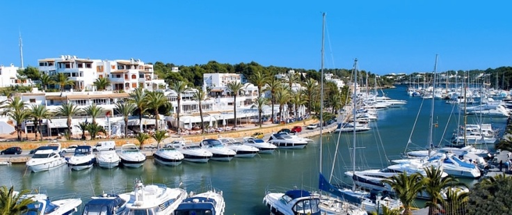 Cala d'Or, the South-East coast of Mallorca island, very close to the glamorous Marina de Cala D'Or, one of the best known marinas on the Balearic Islands.