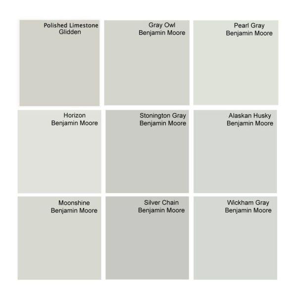 Considering BM Gray Owl Horizon And Alaskan Husky For Master Bedroom