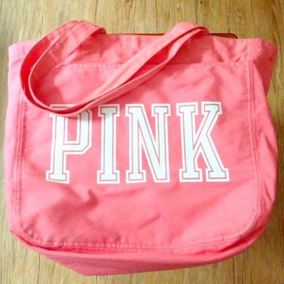 PINK Shoulder Bag PINK shoulder bag. Super cute, but not used enough. PINK Victoria's Secret Bags Shoulder Bags