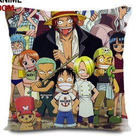Japanese anime onepiece pillow all members of straw hat pirates together8(Can be customized) by Victoria's Deco. $33.99. The pillow case's  picture are all the same in both two sides.. The pillow inner is made of memory fabric,with high qualiity. All memebers of The Straw Hats are together here in the pillow.. Can be customized. The definition of pillow is decided by the picture you offered.You should pay more $10 if you want to customized.. Size: 40 cm X 40 cm (1...