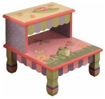 Garden frog stool