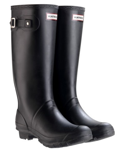 black matte hunter boots fashion pinterest