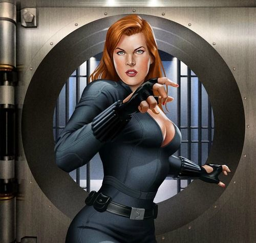 Marvel légendesCrimson Dynamo BAF-Black Widow Yelena BelovaEn Stock