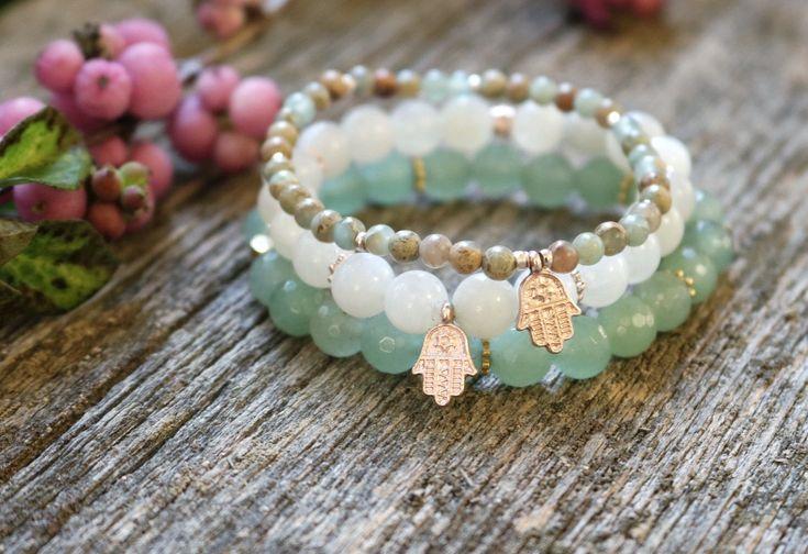 Boho bracelet stack ✨