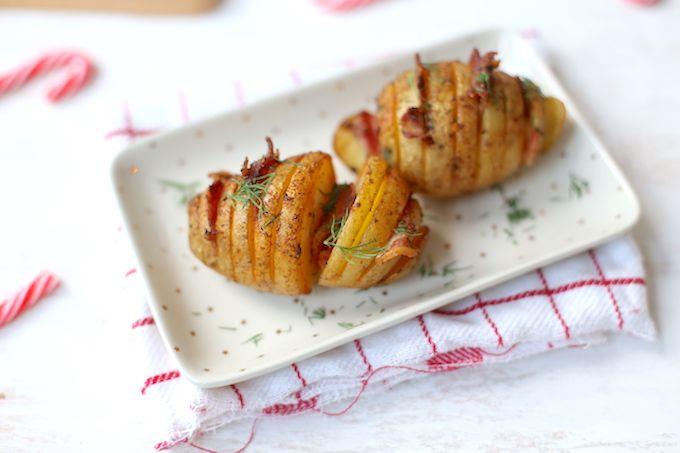 Kerst: Aardappelwaaier met spek
