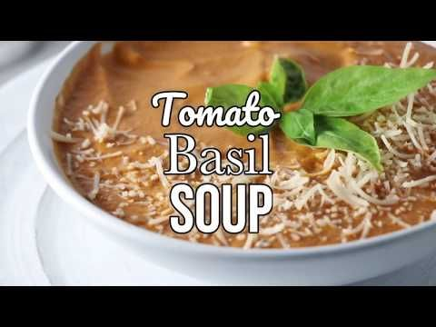 Vegan Tomato Basil Soup | Eat. Drink. Shrink.