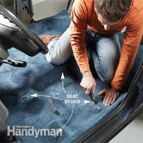 Install New Car Carpet | The Family Handyman