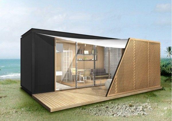 スモールハウスのサイズは海上用コンテナサイズ(20ft)を元に設計しているのでトレー - Yahoo!ニュース(@DIME)
