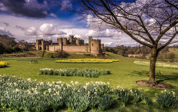 https://flic.kr/p/HcouKt | Alnwick Castle In The Spring. | Taken at Alnwick, Northumberland on 29/03/2016.