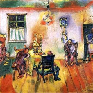 "Marc Chagall ""The Sabath"""