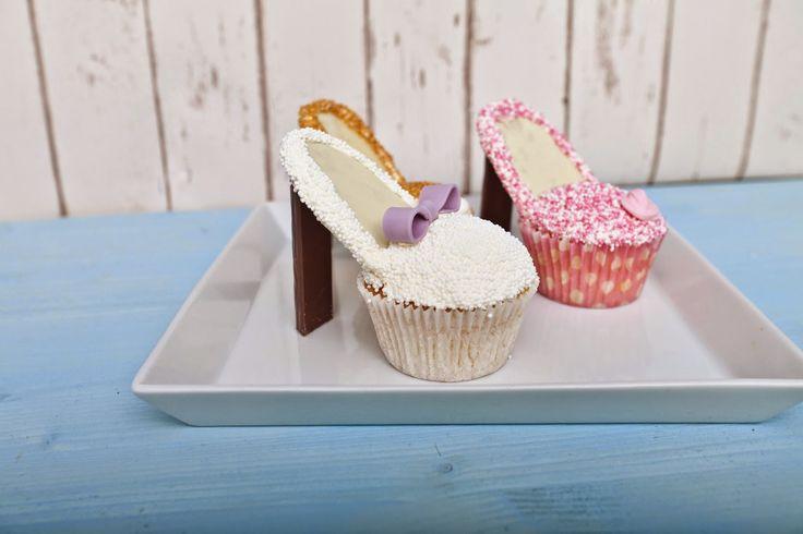 .: Cupcake-Schuhe mit Rezept und Tutorial