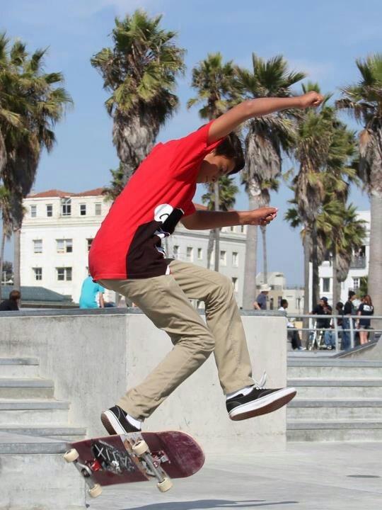 Drake  Vasquez Skateboarding Venice Skate Beach