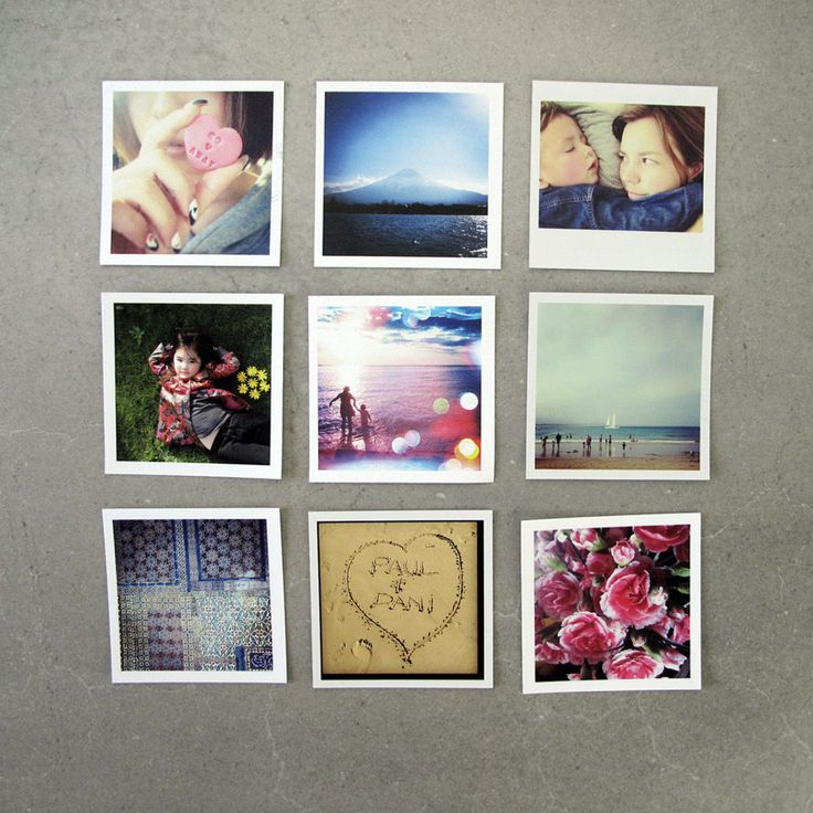 Print Instagram Photos | Mini Squares