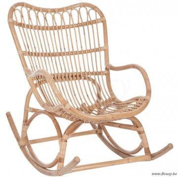 "J-Line Schommelstoel rotan naturel <span style=""font-size: 0.01pt;"">Jline-by-Jolipa-61390-fauteuil-a-bascule-en-rotin</span>"