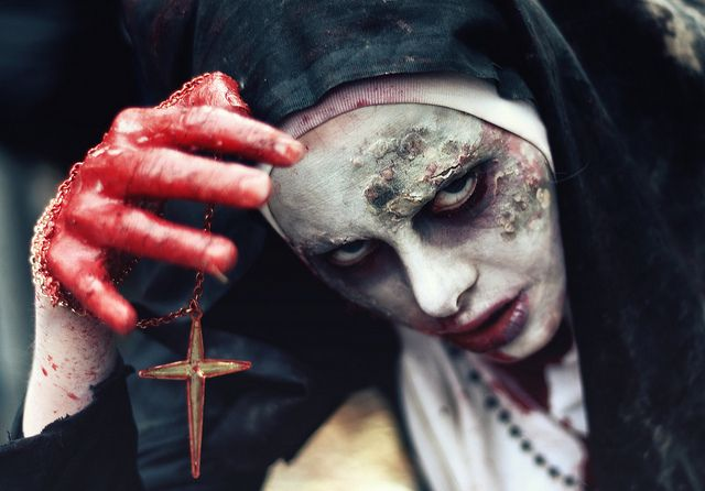 Zombie Costume Ideas 2014 -  The Nun Zombie