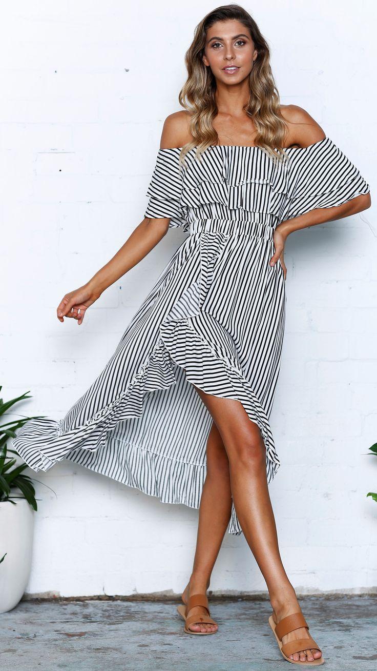 Slide show - Beachside Dress - Black