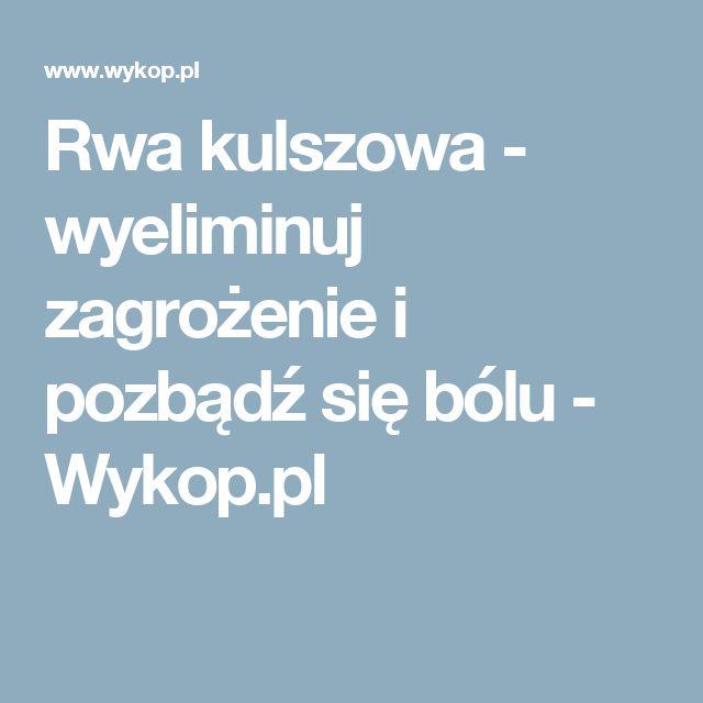 Rwa kulszowa - wyeliminuj zagrożenie i pozbądź się bólu - Wykop.pl
