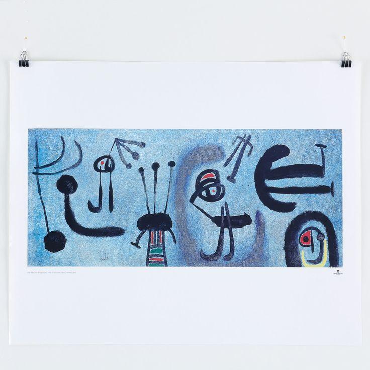 Joan Miró: Composition Bleue