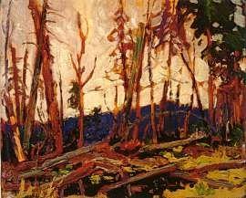 Tom Thomson Burnt Country 1914